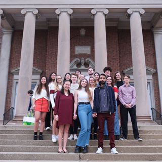 "thedenisonian on Instagram: ""Happy publishing day from our new editors! Our first issue of the semester is out TODAY! 🤩"""
