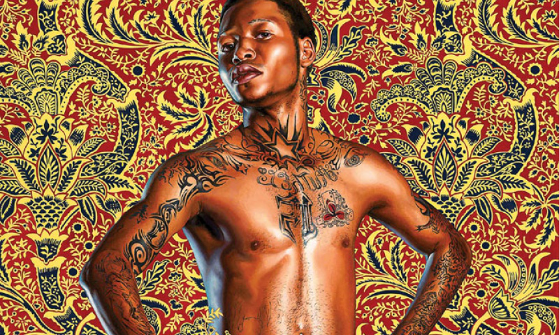 Kehinde Wiley, Prince Albert, Prince Consort of Queen Victoria, 2013. Courtesy of Hedy Fisher and Randy Shull